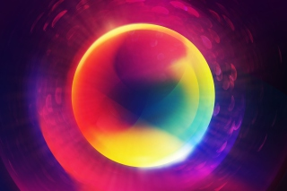 Free Colorful Circle Picture for Android, iPhone and iPad