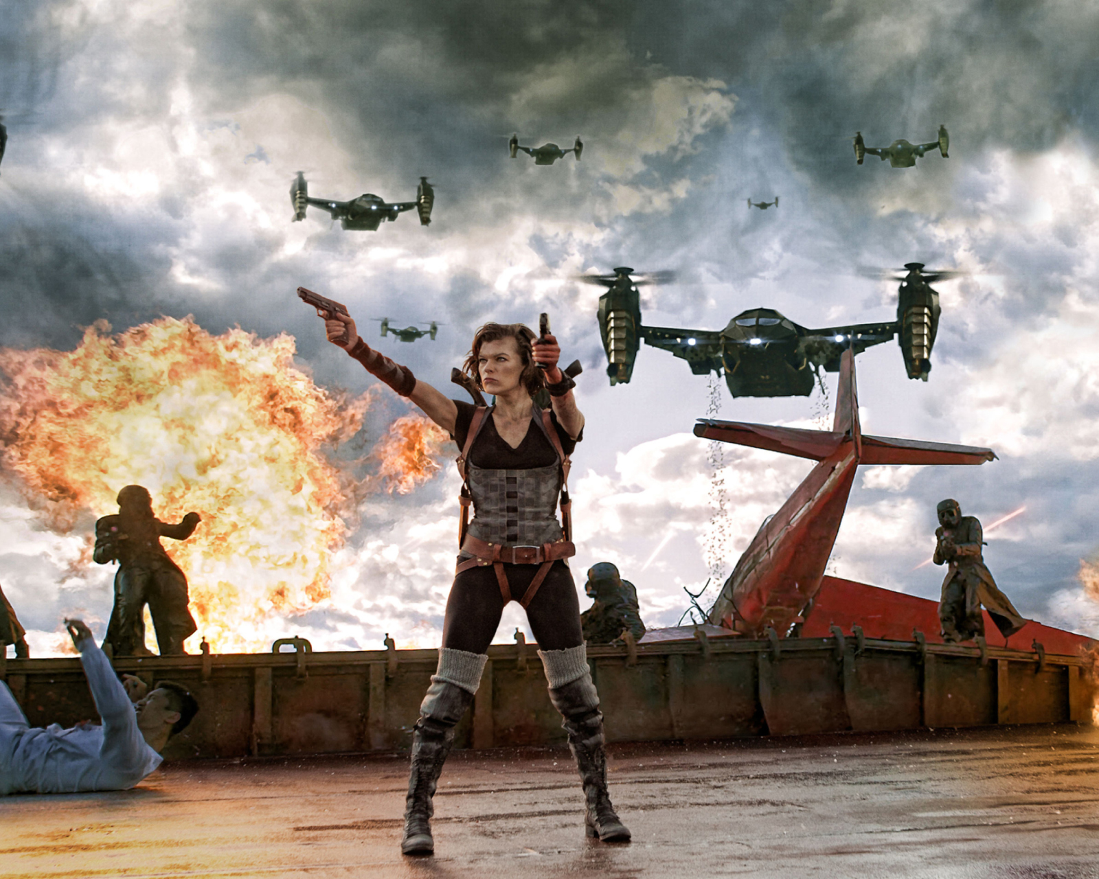 Screenshot №1 pro téma Resident Evil Retribution 1600x1280