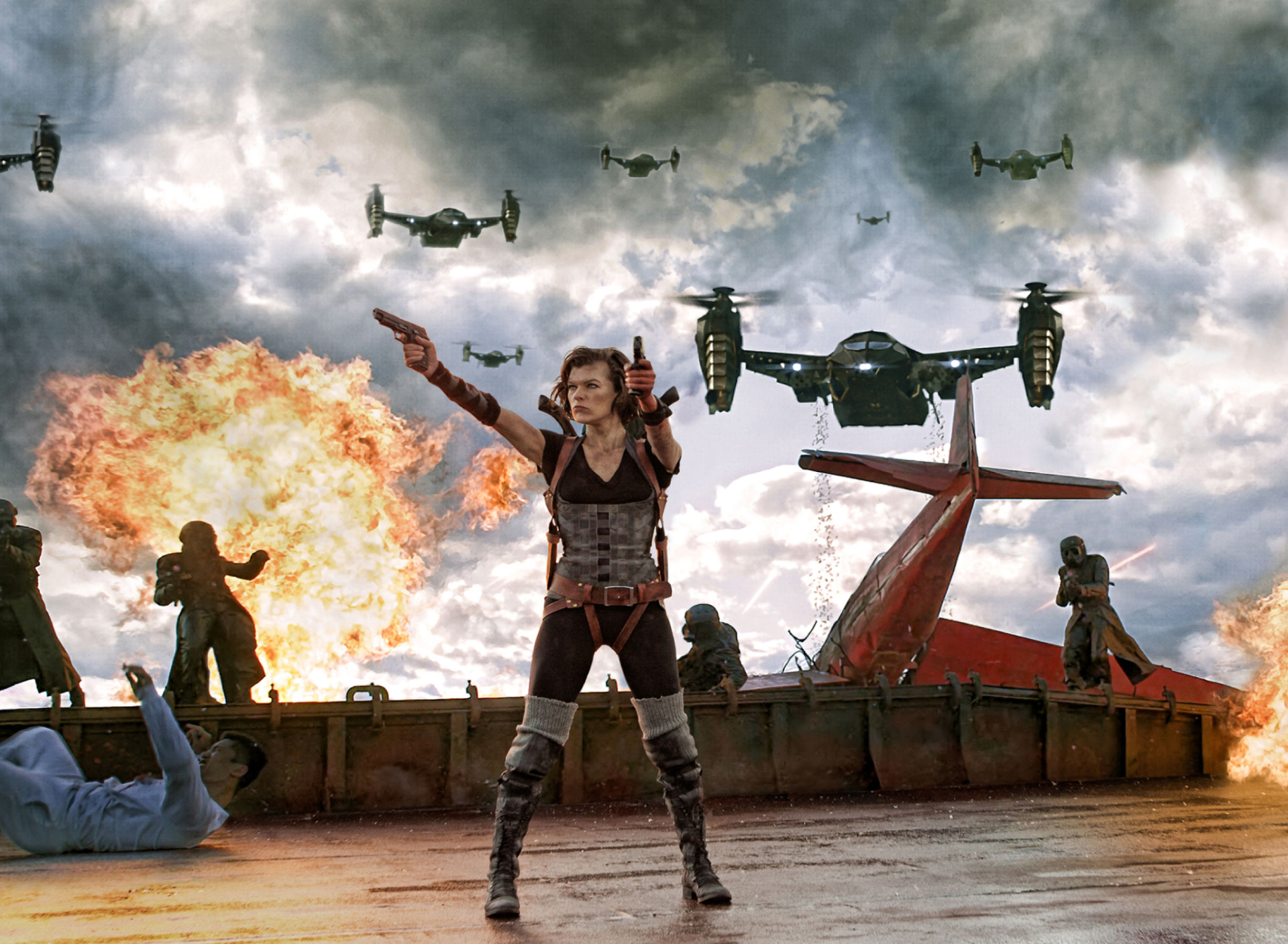 Screenshot №1 pro téma Resident Evil Retribution 1920x1408