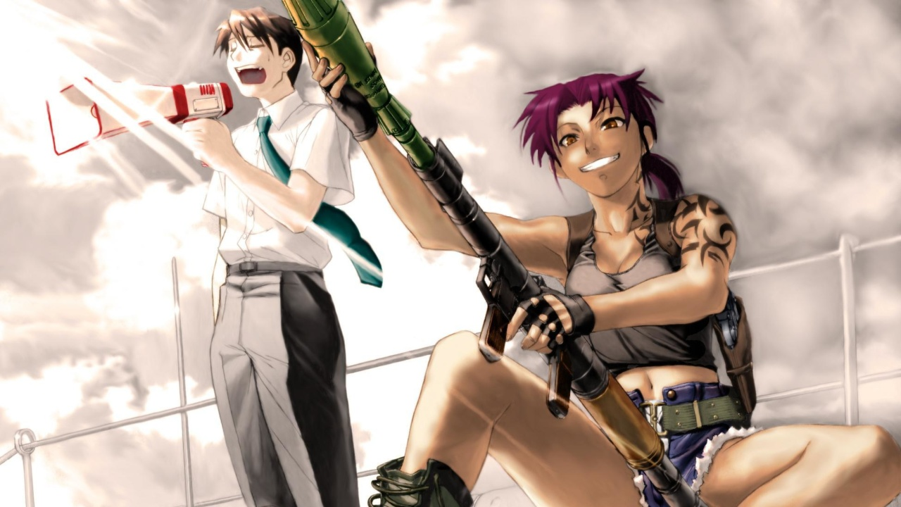Black Lagoon Anime wallpaper 1280x720