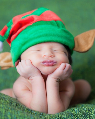 Cute Baby Elf Background for Nokia C5-06