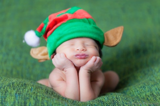 Cute Baby Elf Picture for Android, iPhone and iPad