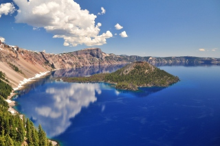 Crater Lake sfondi gratuiti per cellulari Android, iPhone, iPad e desktop