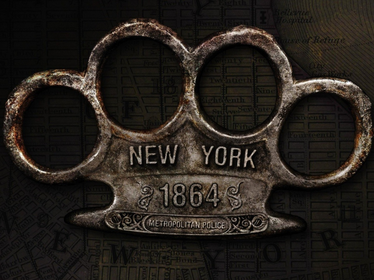 Screenshot №1 pro téma New York Police Knuckles 1280x960