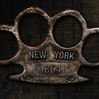 New York Police Knuckles sfondi gratuiti per iPad