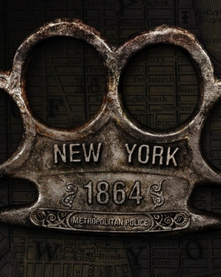 New York Police Knuckles sfondi gratuiti per iPhone 4