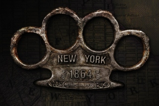 New York Police Knuckles Background for LG Optimus U
