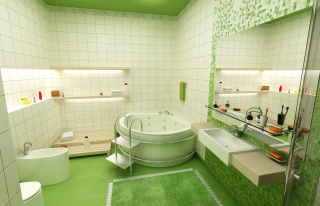 Обои Bathroom Interior Design для Nokia C3