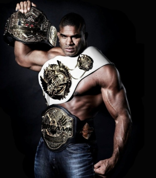 Alistair Overeem Mma Ufc Fighter Mixed sfondi gratuiti per iPhone 6 Plus