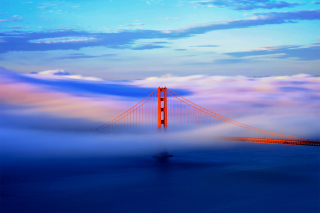 San Francisco Golden Gate Bridge Wallpaper for Android, iPhone and iPad