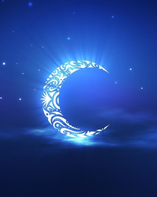 Free Islamic Moon Ramadan Wallpaper Picture for iPhone 6 Plus