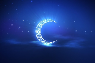 Islamic Moon Ramadan Wallpaper Background for 1080x960