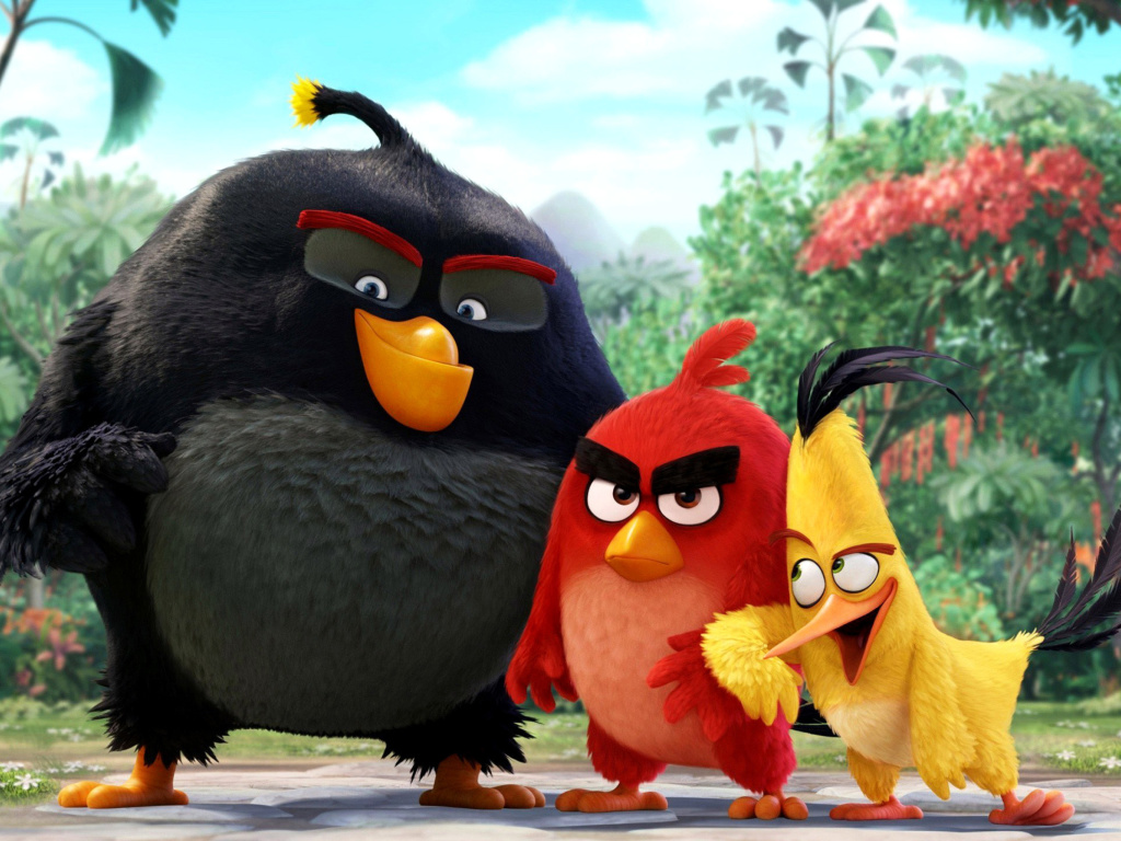 The Angry Birds Comedy Movie 2016 wallpaper 1024x768