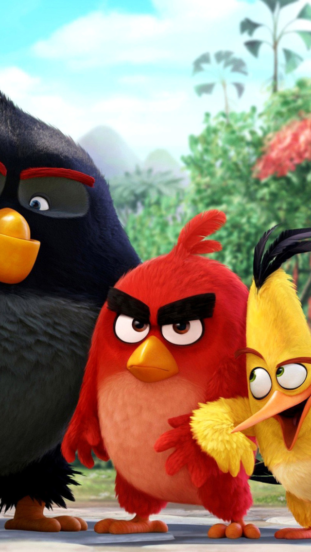 Screenshot №1 pro téma The Angry Birds Comedy Movie 2016 640x1136