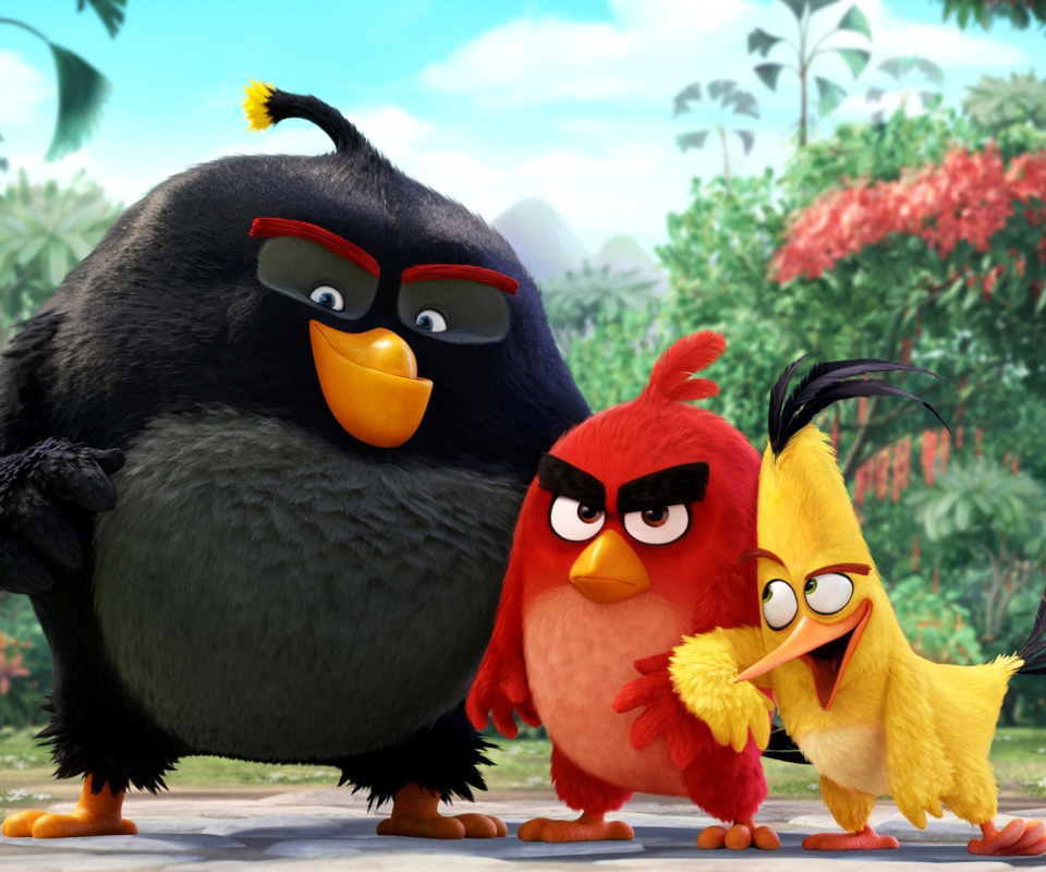 Screenshot №1 pro téma The Angry Birds Comedy Movie 2016 960x800