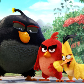 Картинка The Angry Birds Comedy Movie 2016 на телефон iPad mini 2