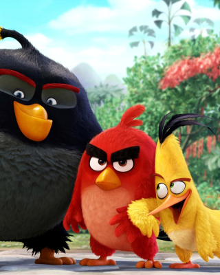 Kostenloses The Angry Birds Comedy Movie 2016 Wallpaper für 240x320