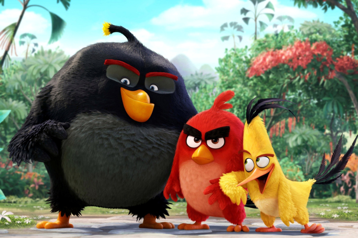 The Angry Birds Comedy Movie 2016 wallpaper