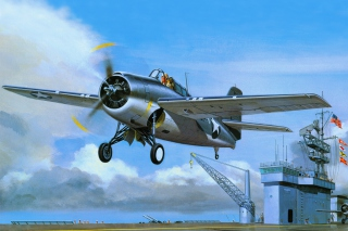 Grumman F4F Wildcat Wallpaper for Android, iPhone and iPad