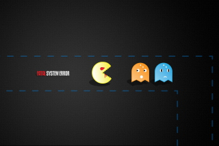 Pacman Yum-Yum Wallpaper for Android, iPhone and iPad