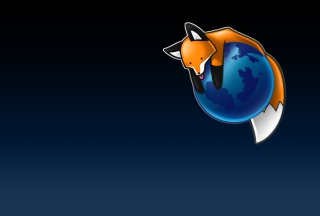 Tired Firefox Background for Android, iPhone and iPad