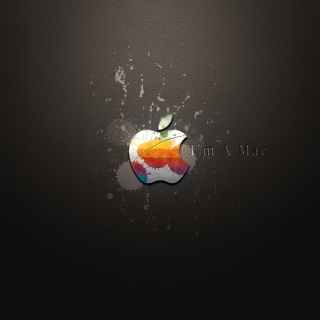Apple I'm A Mac Background for 208x208