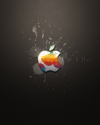Apple I'm A Mac Background for Nokia C5-05