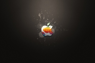 Free Apple I'm A Mac Picture for Nokia Asha 201