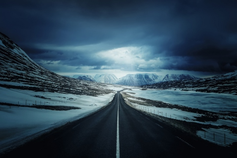Ring Road - Iceland para LG E400 Optimus L3
