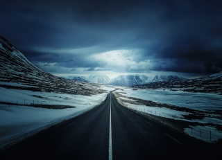 Free Ring Road - Iceland Picture for Android, iPhone and iPad