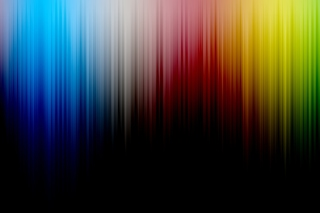 Colorful Spectrum Lines Picture for Android, iPhone and iPad