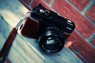 Fujifilm X E1 Background for Android, iPhone and iPad