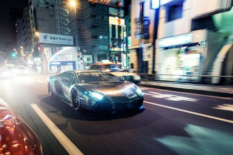 Lamborghini Aventador LP700 para Samsung S5367 Galaxy Y TV