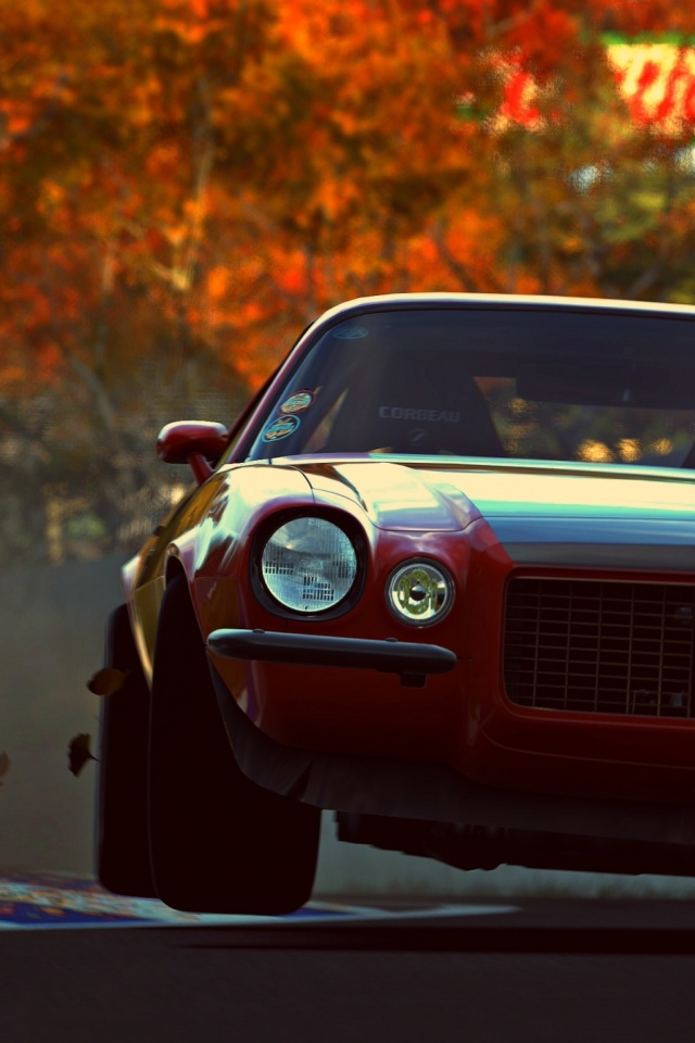 Fondo de pantalla Camaro RS from game Gran Turismo 6 640x960