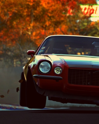 Camaro RS from game Gran Turismo 6 sfondi gratuiti per iPhone 6 Plus