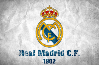 Real Madrid CF 1902 Background for Android, iPhone and iPad
