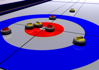 Curling Picture for 1920x1080