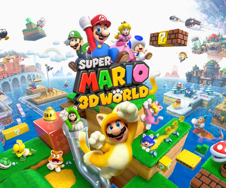 Screenshot №1 pro téma Super Mario 3D World 960x800