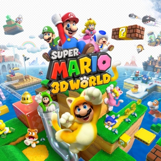 Super Mario 3D World papel de parede para celular para iPad 3