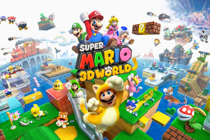 Screenshot №1 pro téma Super Mario 3D World