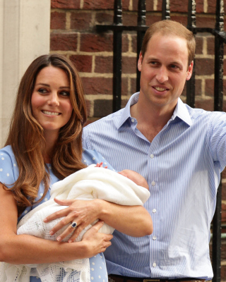 Royal Family Kate Middleton and William Prince Background for HTC Titan