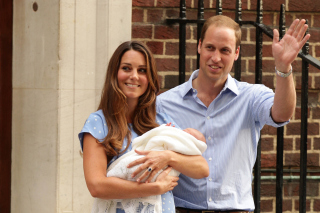 Royal Family Kate Middleton and William Prince - Obrázkek zdarma