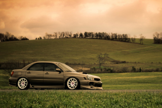 Subaru Impreza Background for Android, iPhone and iPad