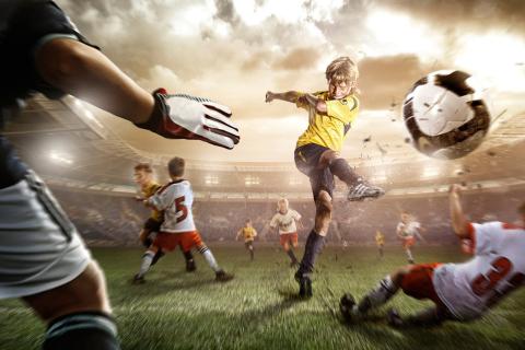 Football Goal para Samsung S5367 Galaxy Y TV