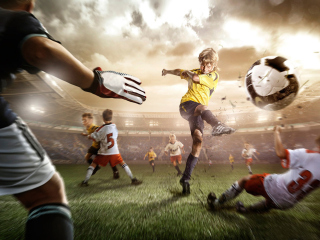 Football Goal Picture for Android, iPhone and iPad