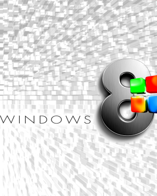 Windows 8 Logo Wallpaper papel de parede para celular para iPhone 4S