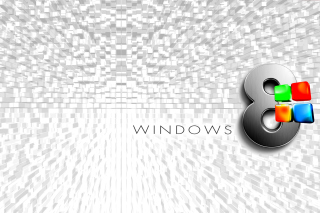 Windows 8 Logo Wallpaper papel de parede para celular para Acer A101 Iconia Tab
