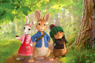 Kostenloses The Tale of Peter Rabbit Wallpaper für 1280x720
