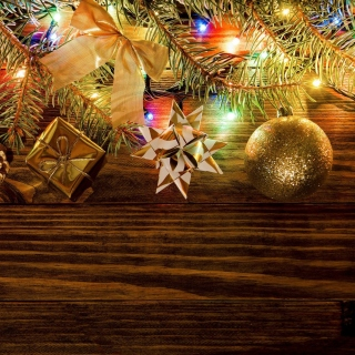 New Year Decorations sfondi gratuiti per iPad 3