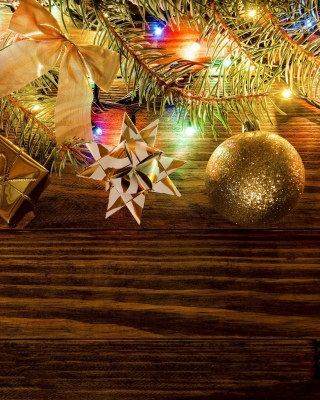 New Year Decorations - Fondos de pantalla gratis para iPhone SE